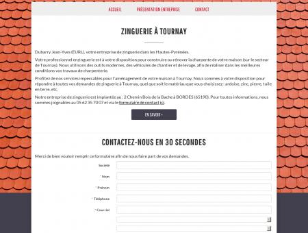 Zinguerie à Tournay | DUBARRY JEAN-YVES