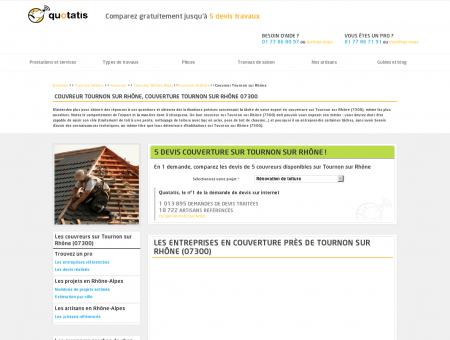 Couvreur Tournon sur Rhône, Couverture...