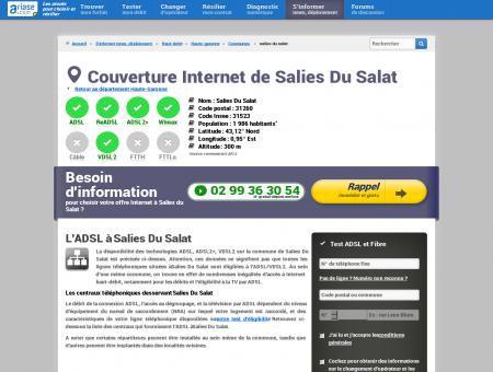 Couverture Internet de Salies Du Salat -...