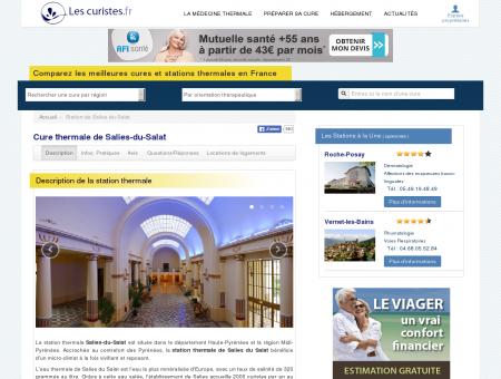 Cure thermale de Salies-du-Salat - Avis, Infos...
