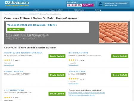 Toitures Salies Du Salat : zinc, ardoise, tuile :...