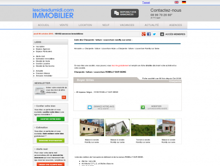 Charpente / toiture / couverture Romilly sur...