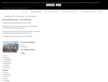 Couverture (entreprises) Vernouillet - Renaud...
