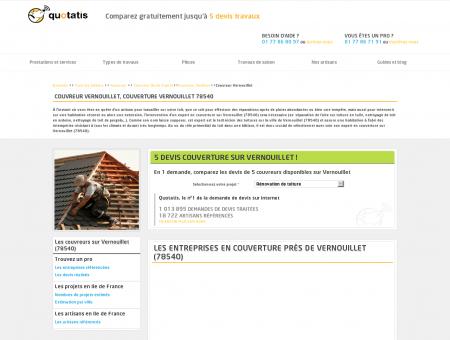 Couverture Vernouillet, 5 devis Couvreur...