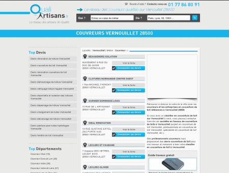 Couvreur Vernouillet 28500