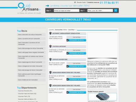 Couvreur Vernouillet 78540