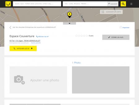 ESPACE COUVERTURE Vernouillet (adresse) -...