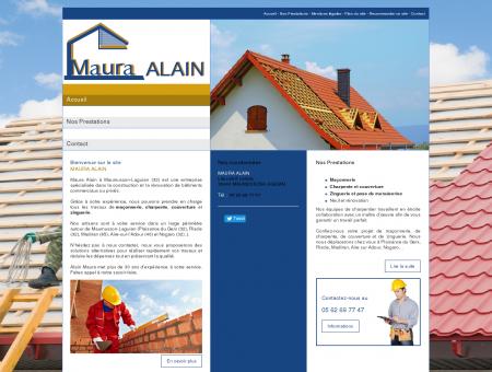 MAURA ALAIN : entreprise de maçonnerie pour...