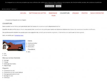 Couverture (entreprises) Roquebrune sur...