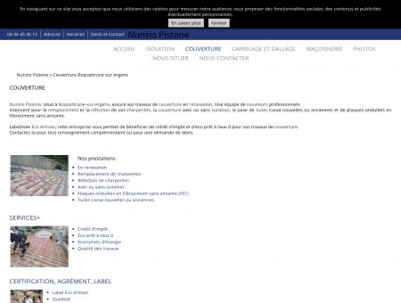 Couverture à Roquebrune-sur-Argens 83 -...