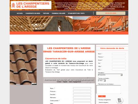 Couverture Toiture TARASCON-SUR-ARIEGE -...