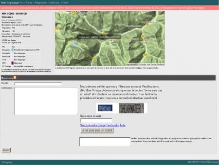 Stats-dégroupage : Informations sur VCD09 -...