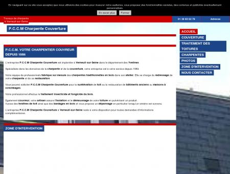 Couverture (entreprises) - P.C.C.M Charpente...