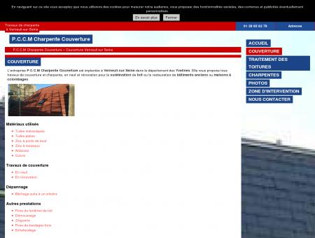 Couverture (entreprises) Verneuil sur Seine -...