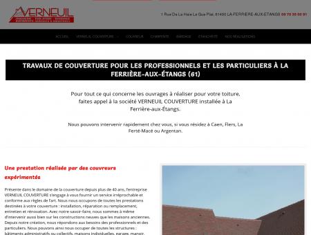 Couverture 61 - VERNEUIL COUVERTURE :...