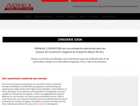 Présentation / Couverture 61 / VERNEUIL...