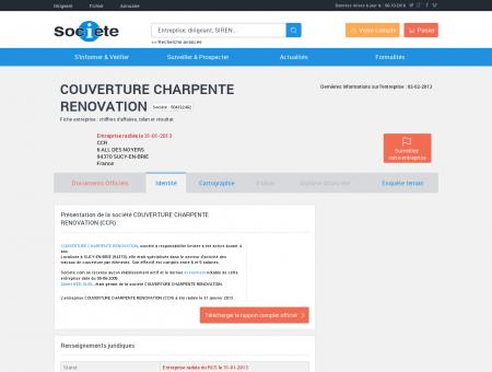 COUVERTURE CHARPENTE RENOVATION...