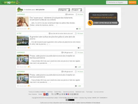 Couverture pour Piscine | Abri-Piscine-Pas-Cher.Anygator.com