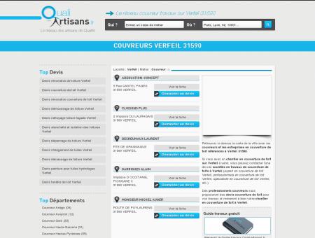 Couvreur Verfeil 31590