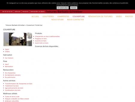 Couverture, Toitures Barbato-Schreiber, La...