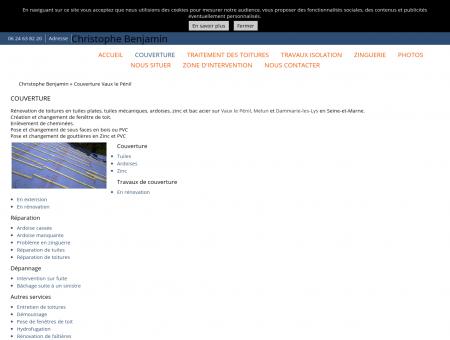 Couverture (entreprises) Vaux le Pénil -...