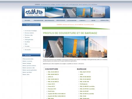 COBAFER - Profils de couverture et bardage