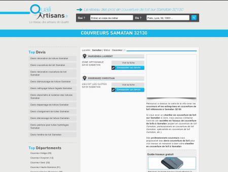 Couvreur Samatan 32130