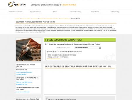 Couvreur Pertuis, Couverture Pertuis 84120