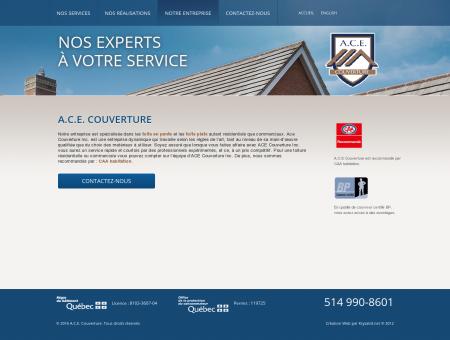 Entreprise de Couverture A.C.E. Couverture -...