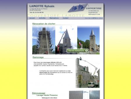 Couverture LAMOTTE - Couverture, Zinguerie,...