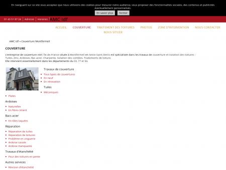 Couverture (entreprises) Montfermeil - AMC Idf