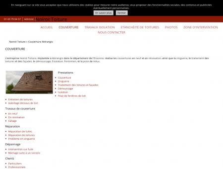 Couverture (entreprises) Morangis - Noirot...