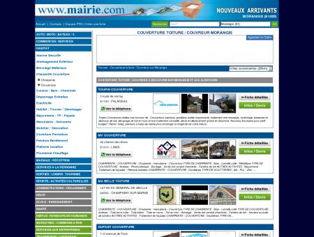 Couverture toiture / Couvreur Morangis :...