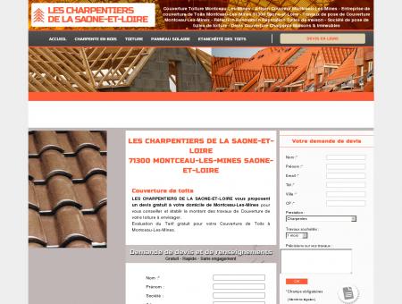 Couverture Toiture MONTCEAU-LES-MINES -...