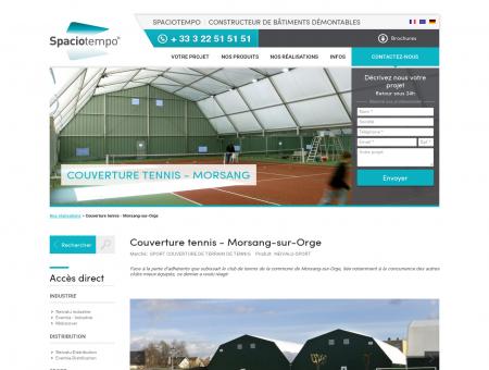 Couverture tennis - Morsang-sur-Orge |...