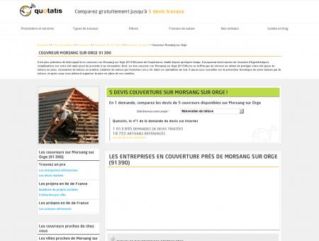 Couvreur Morsang sur Orge - 5 devis...