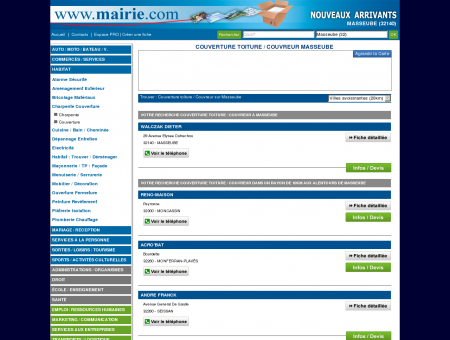 Couverture toiture / Couvreur Masseube :...