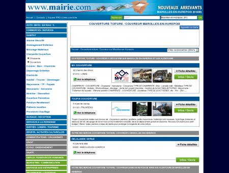 Couverture toiture / Couvreur Marolles-en...
