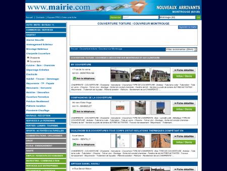 Couverture toiture / Couvreur Montrouge :...
