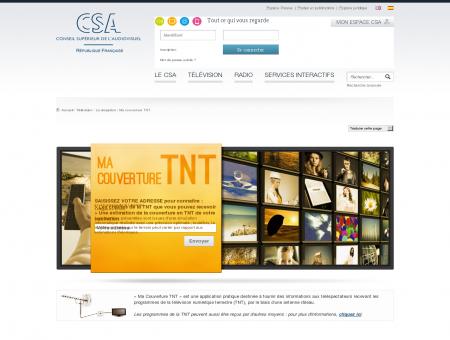 Couverture numérique de la télévision - CSA.fr...