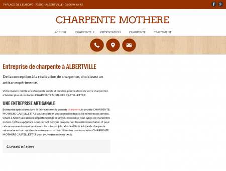 Charpente, couverture, zinguerie - Albertville (73)