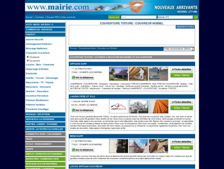 Couverture toiture / Couvreur Noisiel :...