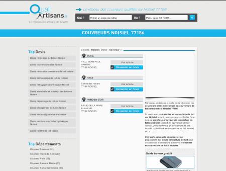 Couvreur Noisiel 77186