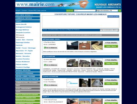Couverture toiture / Couvreur Magny-les...