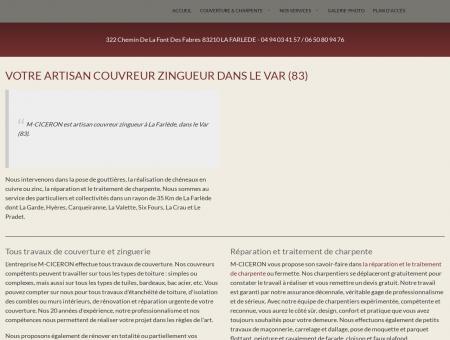 Couvreur Hyeres - CICERON STEPHANE :...