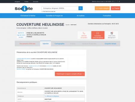COUVERTURE HEULINOISE (LA CHAPELLE...