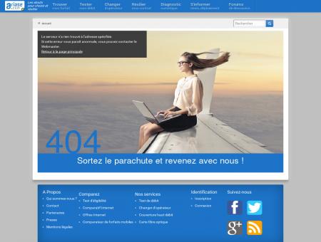 Couverture Internet de Lignières - ADSL, fibre...