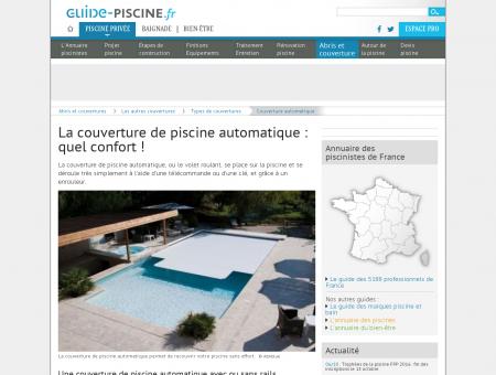 La couverture de piscine automatique : quel...