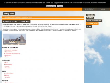 Couverture (entreprises) Lomme - Leroy Jean