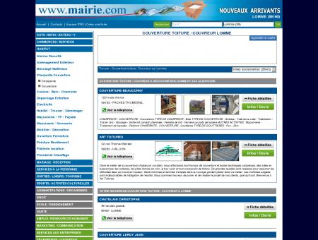Couverture toiture / Couvreur Lomme :...